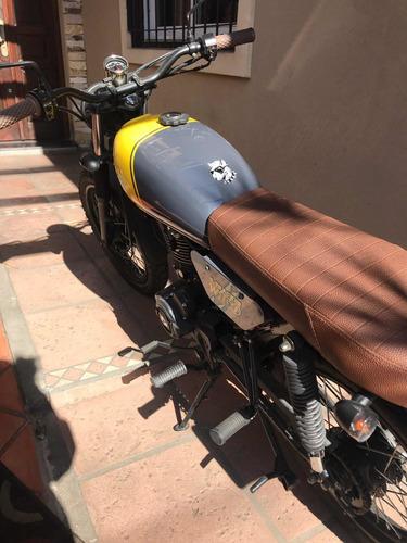 mondial w150 tracker caferacer custom