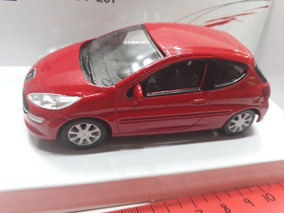 Norev Peugeot 207 Rojo 1:43 3 Puertas