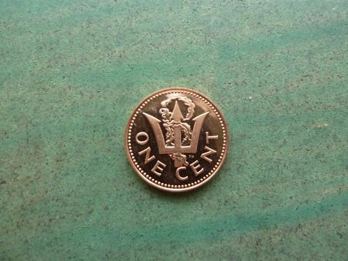 moneda 1 centavo 1977 barbados - vp