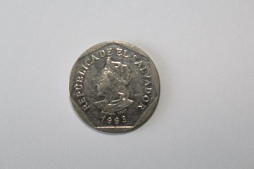 moneda 1 colon de el salvador 1993