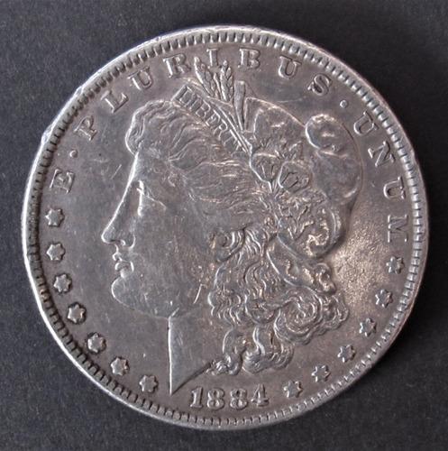 moneda 1 dolar 1884 morgan estados unidos usa  (c85)