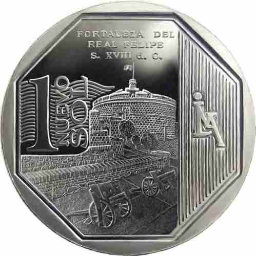 moneda 1 nuevo sol - riqueza y orgullo del perú
