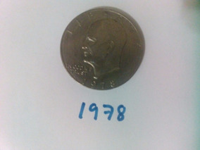 Moneda 1 One Dollar Liberty 1978
