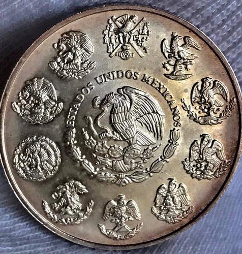 moneda 1 oz méxico 2001 plata l .999 excelente envió gratis