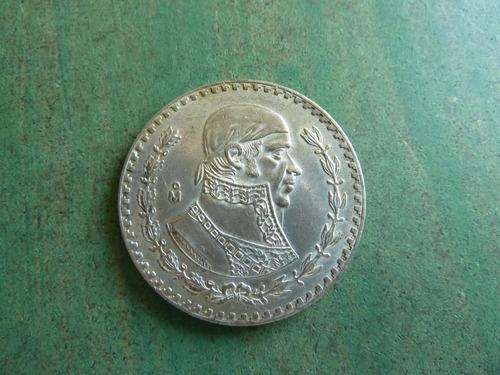 moneda 1 peso mexico 1957 - vp