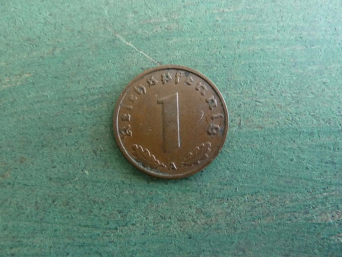 moneda 1 reichspfennig alemania 1937 - vp