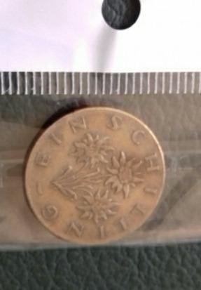 moneda 1 schilling 1960 austria
