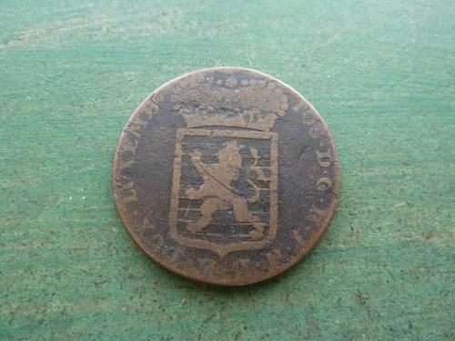 moneda 1 sol 1786 luxemburgo