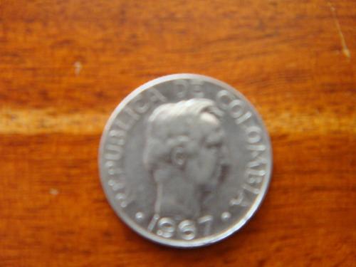 moneda 10 centavos 1967