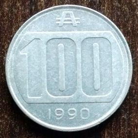 moneda 100 australes 1990