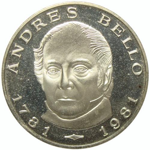 moneda 100 bolívares de 1981 bicentenario don andrés bello
