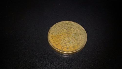 moneda 100 pesos venustiano carranza 1990 de coleccion