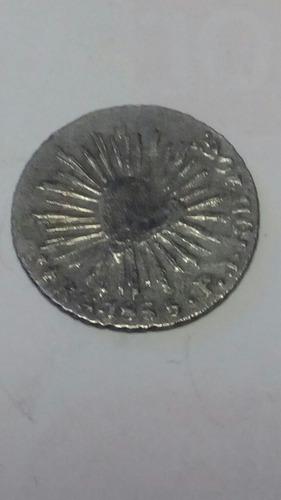 moneda 1/2 real resplandor