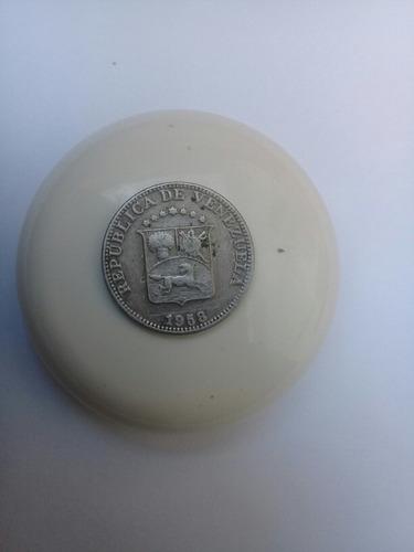 moneda 12.5 céntimos 1945