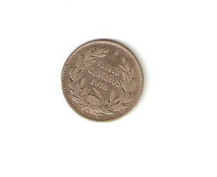 moneda 1916 chile