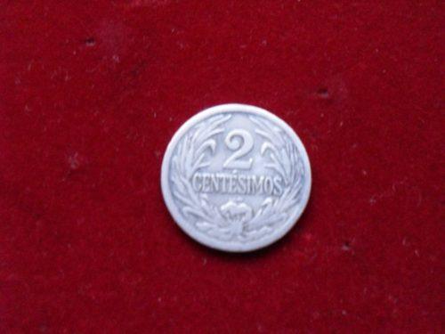 moneda 2 centesimos año 1924, poco uso.-