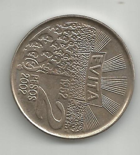moneda 2 pesos evita