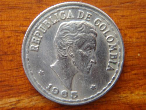moneda 20 centavos 1965