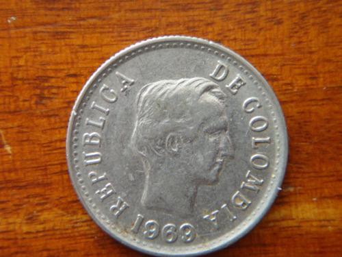 moneda 20 centavos 1969