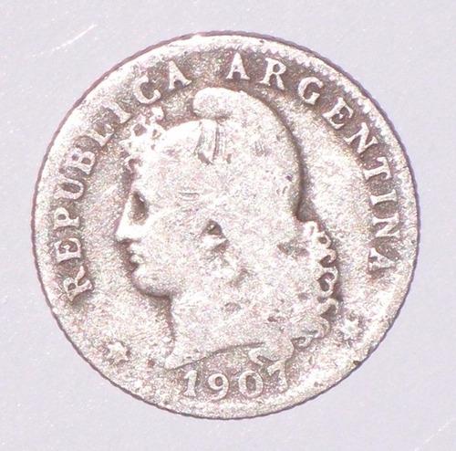 moneda 20 centavos argentina 1907