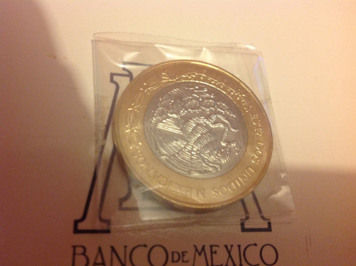 moneda 20 pesos centenario constitucion mexicana