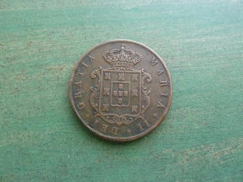 moneda 20 reis portugal 1850 - vp