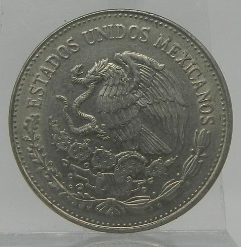 moneda $20 veinte pesos cultura maya méxico 1981