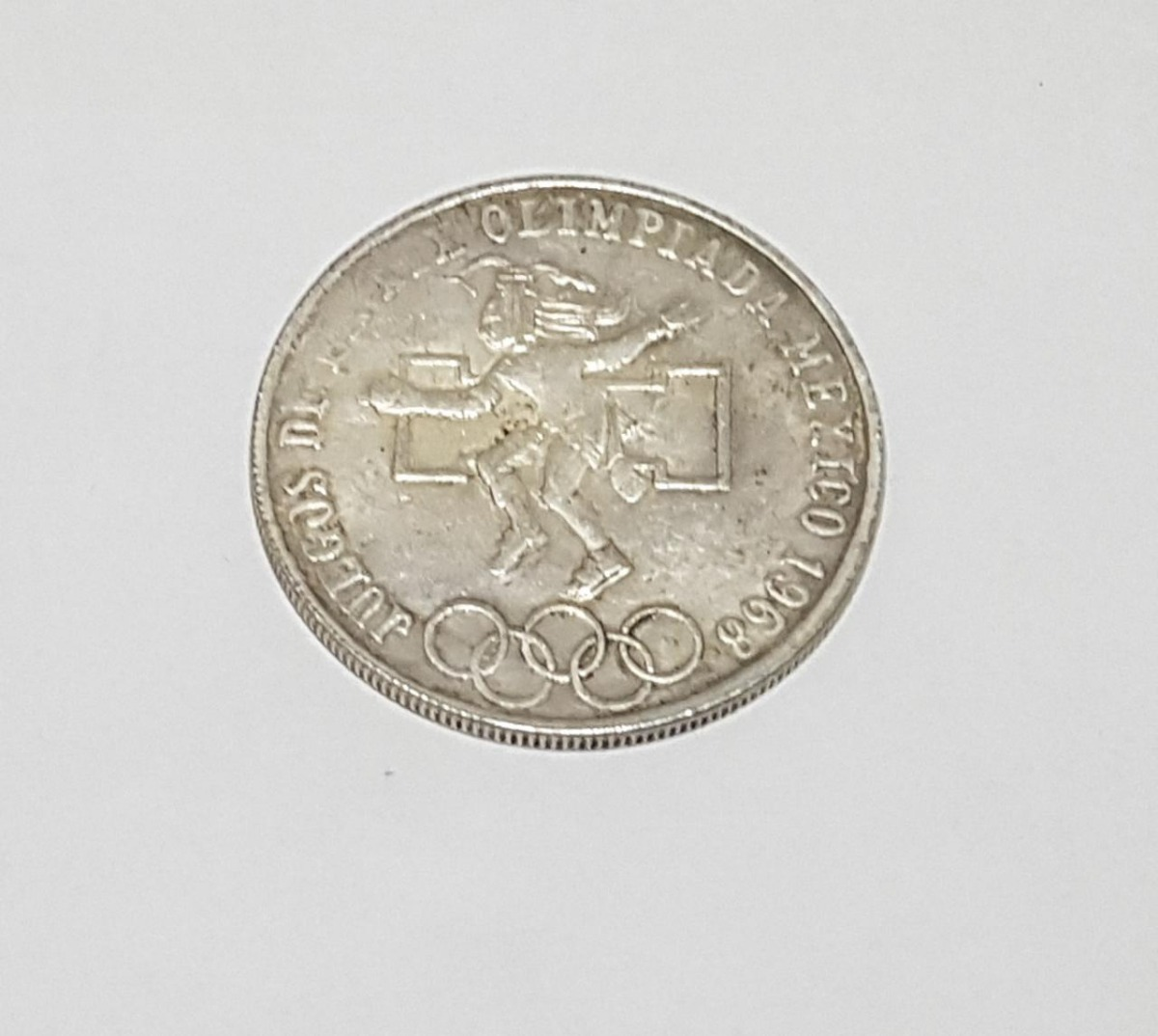 Moneda 25 Pesos Juegos Olimpicos 1968 Replica 99 00 En Mercado Libre