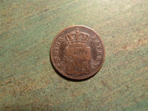 moneda 3 kreuzer 1845 bayern plata - vp