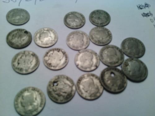 moneda 5 centavos  argentina  lote x 17