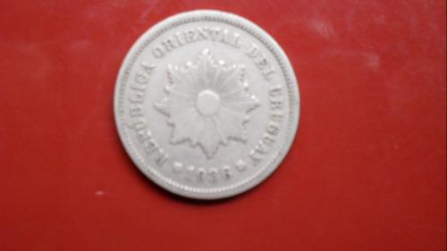 moneda 5 centesimos año 1936, excelente estado.-