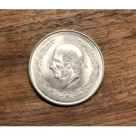 Moneda $5 Hidalgo Plata 0.720 Inversión Y Colección.