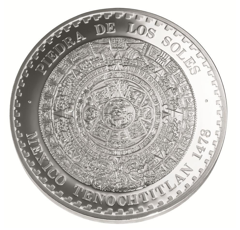 9f83b42b187 moneda 5 onza plata calendario azteca proof piedra soles. Cargando zoom.