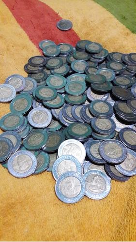 moneda 5 pesos revolucion mexicana e independencia circulada