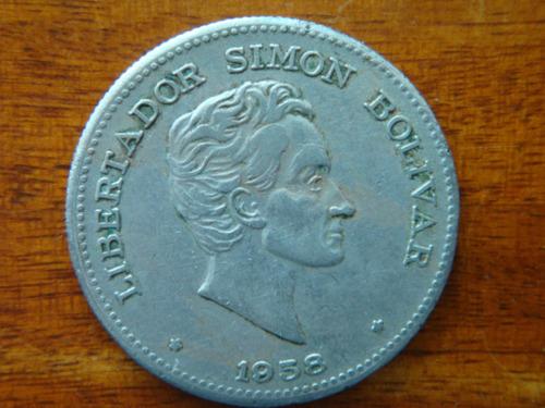 moneda 50 centavos 1958
