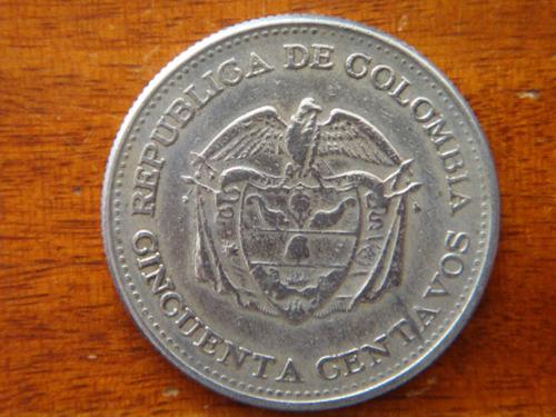 moneda 50 centavos 1963
