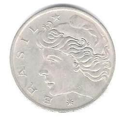 moneda; (50) centavos año 1970 bracil.