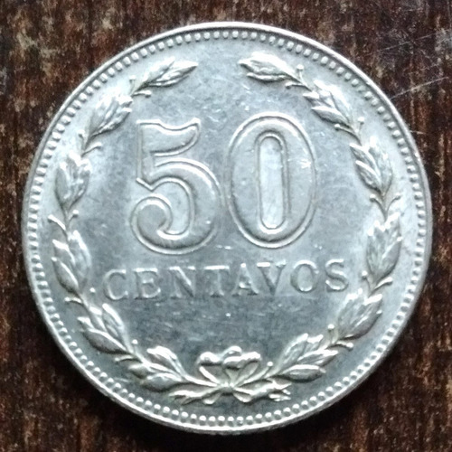 moneda 50 centavos argentina 1941 excelent casi sin circular