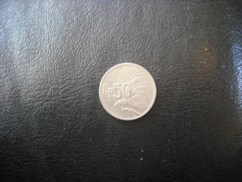 moneda 50 rupias 1971 indonesia (70z