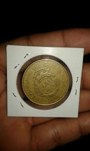 moneda 500 colones ceros grandes