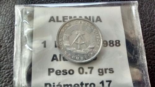 moneda alemania 1 pfenning 1988 (455z
