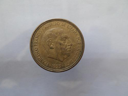 moneda  antigua 2,5 pesetas excelente estado envio gratis