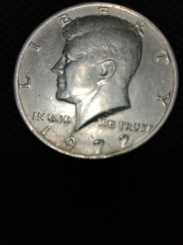 moneda antigua americana de coleccion jfk 1972 1/2 d