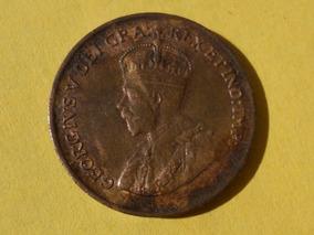 Bullion 1915 Canadá 5 Centavos Moneda En Que No Ha Circulado Estado