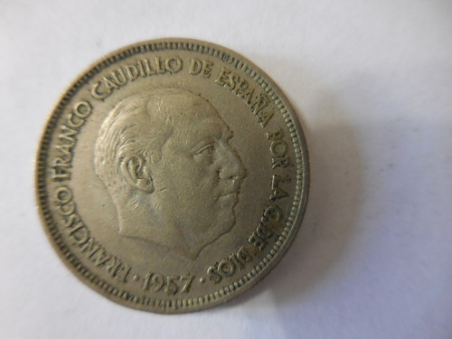 moneda antigua coleccionable 1957 estrella 58