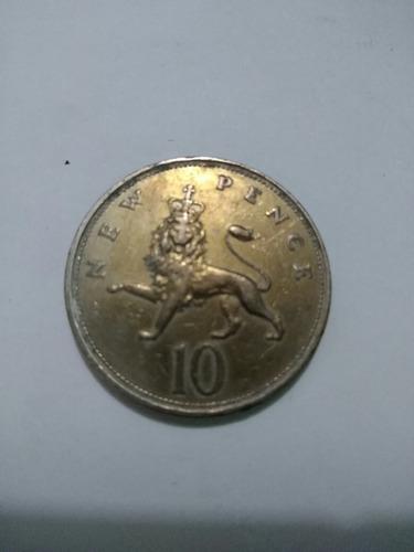 moneda antigua de 1968