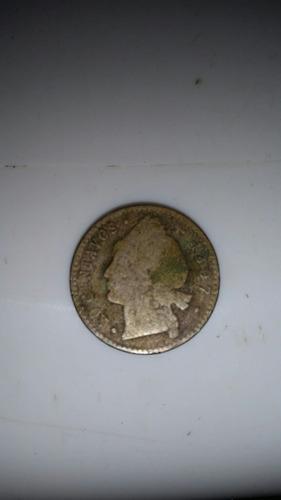 moneda antigua de 20 centavos del 1897