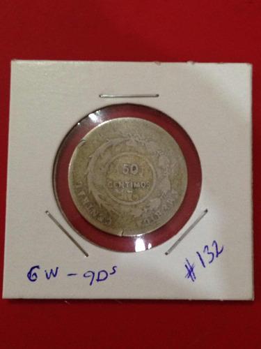moneda antigua de costa rica 1886 fecha escasa jmg