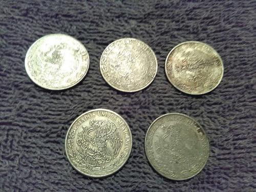 moneda antigua mexicana 70s,80s precio x todas envio gratis