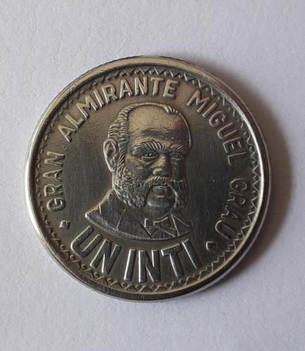 moneda antigua peruana intis 1986-1987-1888